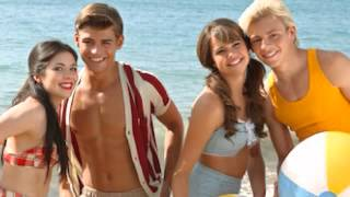 Teen beach movie backstage