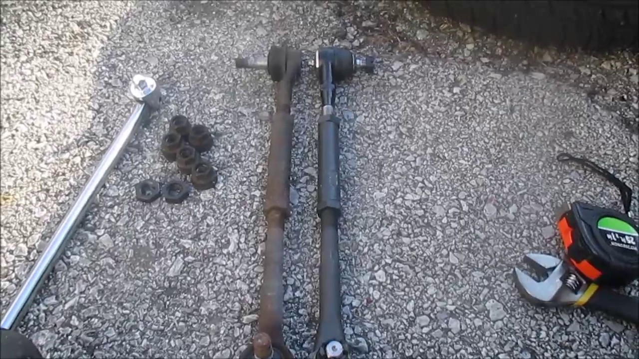 How To Replace Inner and Outer Tie Rods Ford F150  YouTube