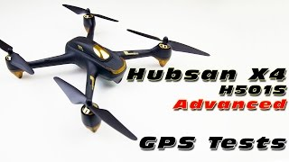 Hubsan X4 H501S Advanced - GPS Functions Test! (from Gearbest.com)