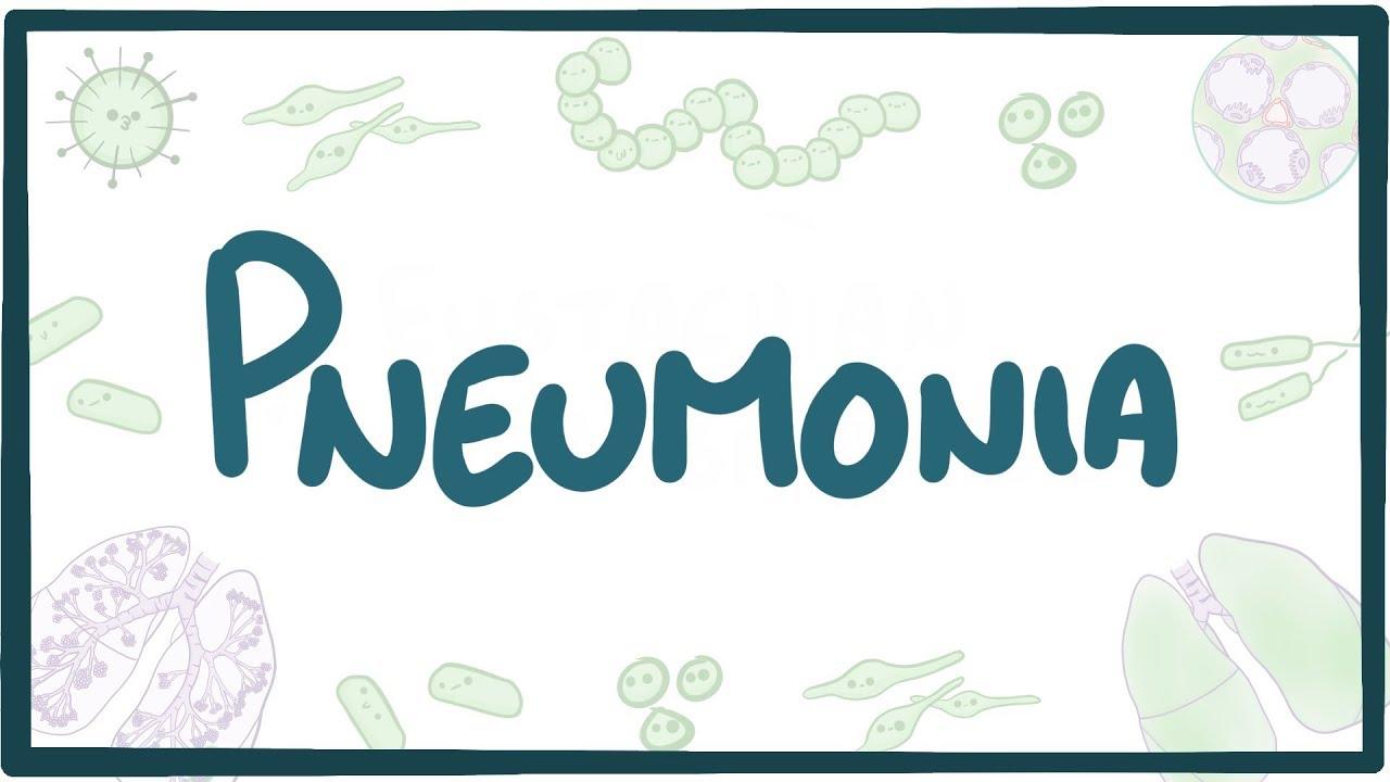 Pneumonia Causes Symptoms Diagnosis Treatment Pathology Youtube