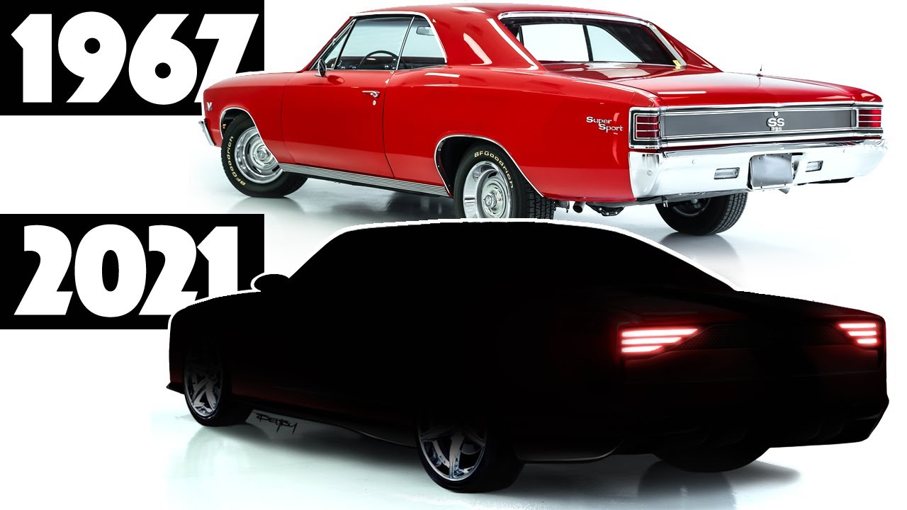 5 Chevelle Redesign - What if it was made TODAY?