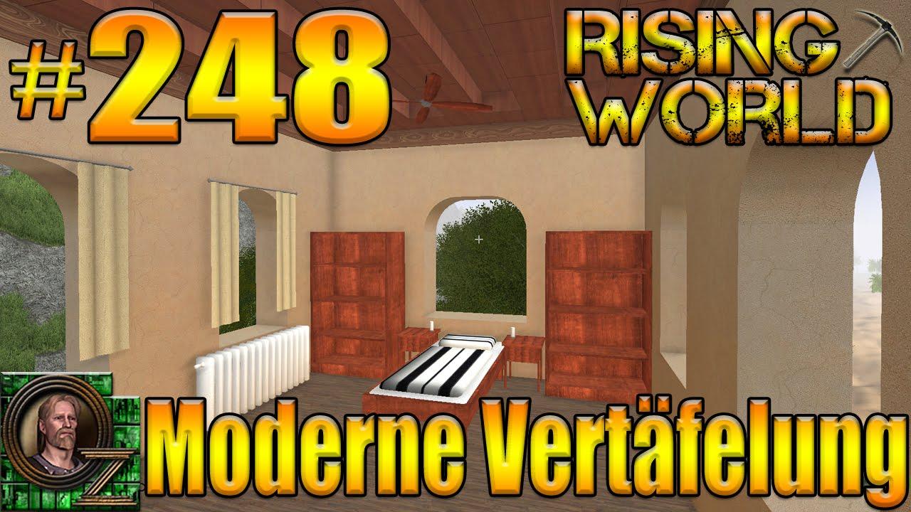 Vertäfelung rising 248 gameplay moderne vertäfelung