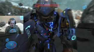 Oni Assistance - Let's Play: Halo Reach - Episode 2 - Oni: Sword Base