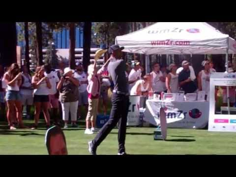 Stephen Curry Tees Off At 2016 America Century Golf Event Lake Tahoe