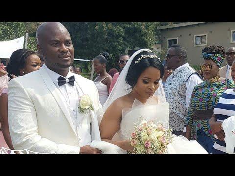 Uzalo:Nkunzi's wife, Innocentia celebrates her WHITE WEDDING😙😙😙