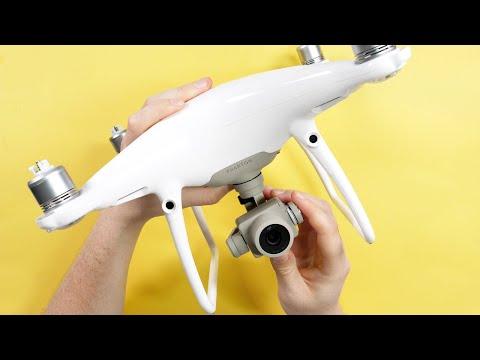 Фото Dji Phantom P4P V2 - Plakette anbringen Tutorial - Wo bringe ich das Drohnen-Kennzeichen an?
