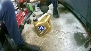 замена масла и фильтра масслянного renault symbol II, рено симбол 2, 2008 год,98 лс,1 4
