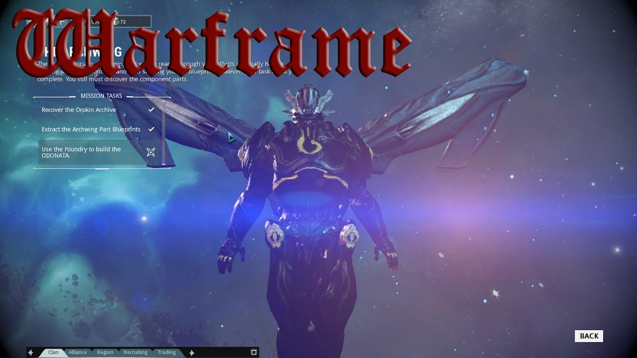 how to make warframe blueprints