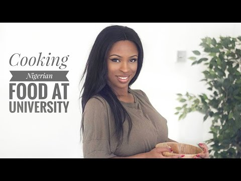 Cooking At University Nigerian Food Ad Youtube