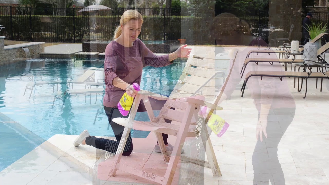 spray and forget outdoor furniture cleaner