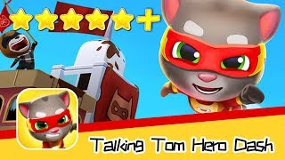 Talking Tom Hero Dash Run Game Day52 Walkthrough Golden Tomb Recommend index five stars+
