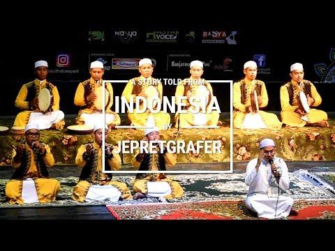Habsyi Al Husna, Sekumpul, Martapura - Festival Syair Maulid 2017, Banjarmasin, South Kalimantan