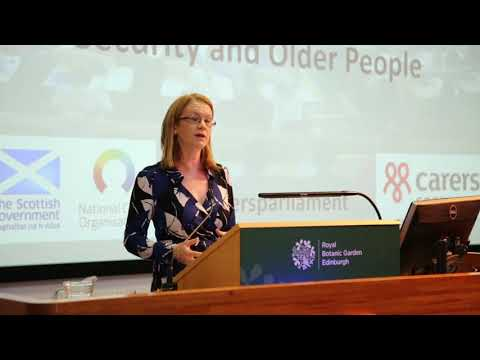 Scottish Carers Parliament 2018 MSP Shirley Anne Somerville: Social Security And Carers