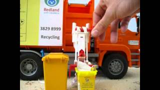 Mini J.J.Richards SL/Redlands Recycling Truck