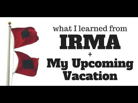 Ham Radio 360: Lessons from IRMA and My Vacation Plans