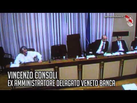 """Veneto Banca, Consoli: """"Il prestito a Verdini? Garantito da uno degli uomini più ricchi d'Italia"""""""