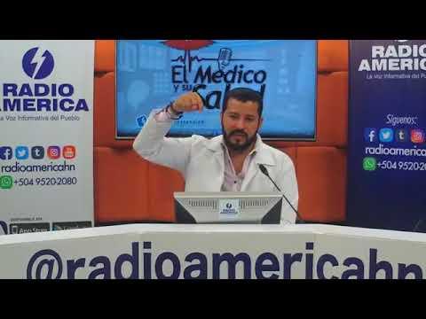 El Médico y su Salud de Radio América Honduras  Lunes 23 de abril de 2018