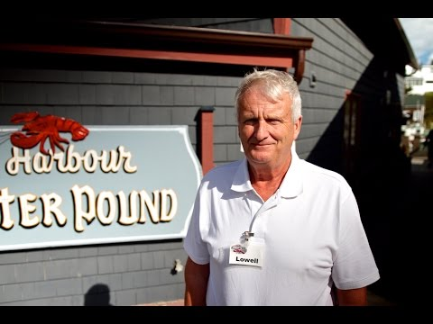 Lowell Simpson, Hall's Harbour Lobster Pound -  2015 Prestige Award Winner