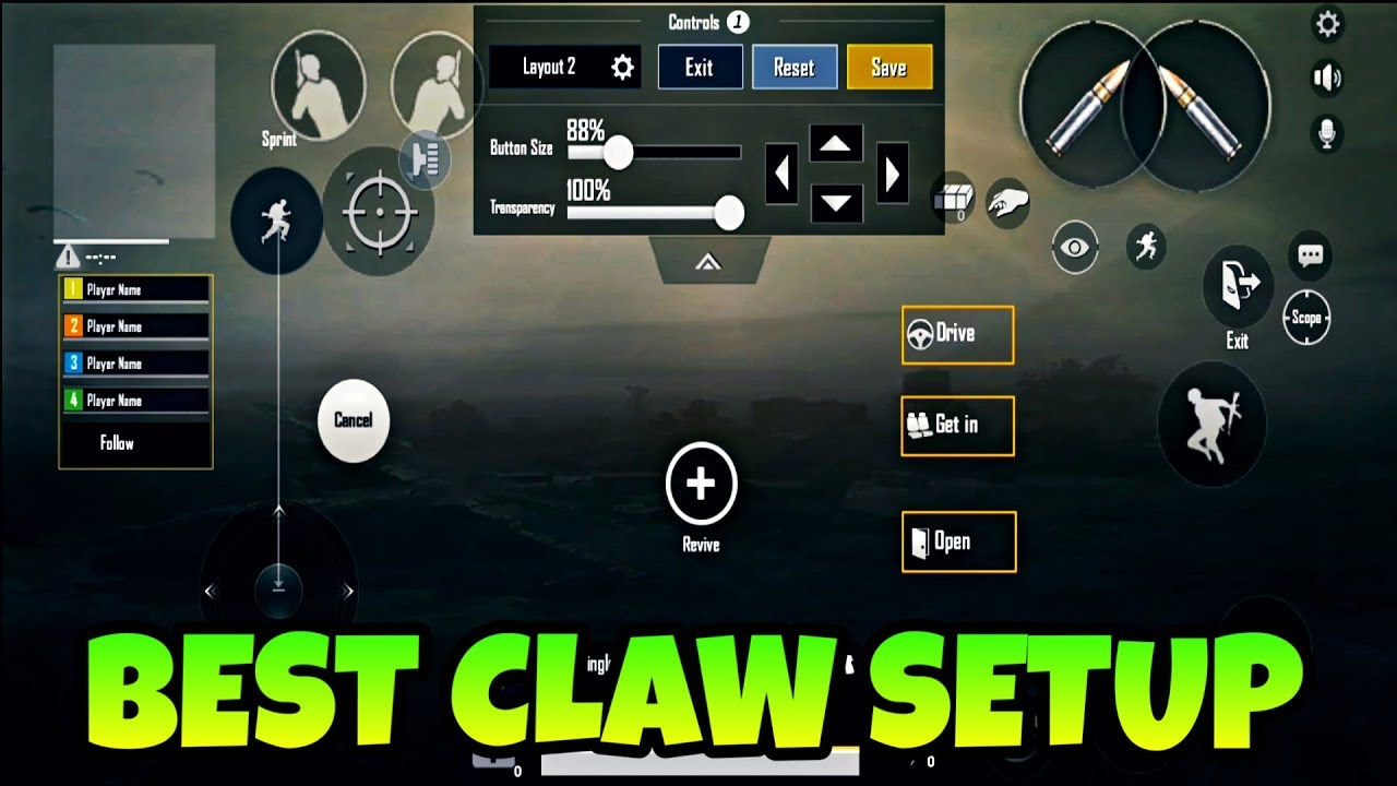 Pubg Mobile Claw Layout - Premium Android