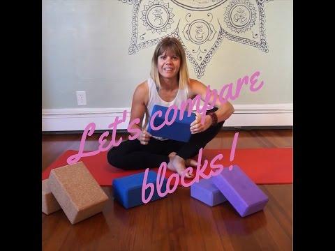 Yoga Block Comparison-Foam Vs Cork-Kelli's Mantra Yoga