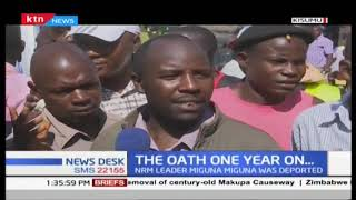 One year on since Kenya saw the 'swearing in' of Raila Odinga as the people's president