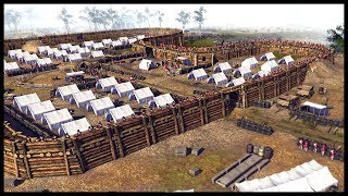 REVOLUTIONARY WAR FORT SIEGE! Continental Forces Storm British Fort - Men of War BITFA Mod Gameplay