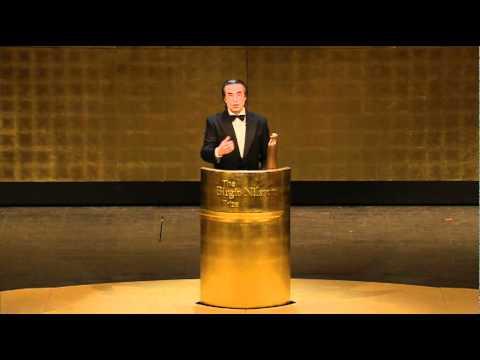 Speech by recipient Riccardo Muti 2011
