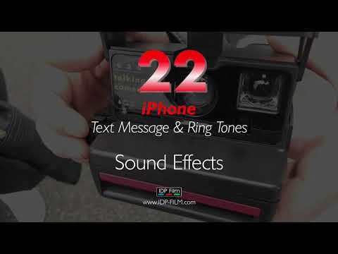 iPhone Message Sound Effects HD - MOBILE Ring Tones 22 - Text Tone