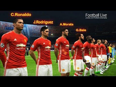 What if C.Ronaldo, Bale, Morata, Rodriguez to Manchester United | Man United vs Man City
