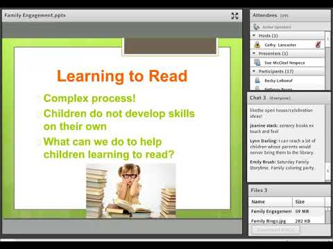 Every Child Ready to Read Family Engagement & Kindergarten Readiness