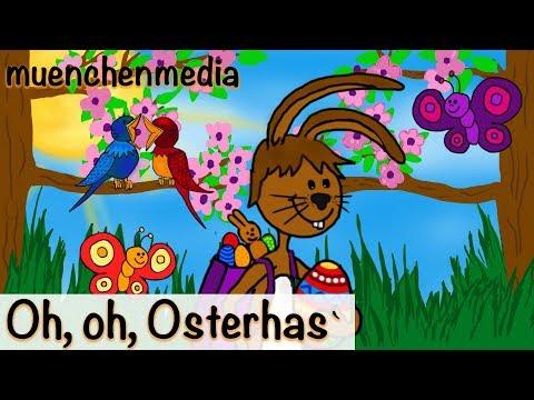 Oh, oh, Osterhas` - Osterlieder - Osterhasenlied - Kinderlieder zum Mitsingen | Kinderlieder deutsch