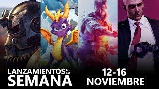 Xbox One | Lanzamientos de la semana (12 - 16 noviembre)