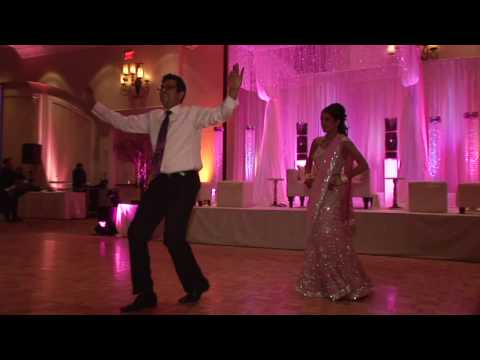 Nishen Radia & Daisy Singh - Bollywood Dance at Reception