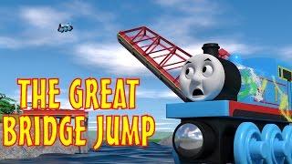 TOMICA Thomas & Friends Short 45: The Great Bridge Jump (WOODEN RAILWAY VERSION)