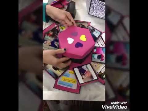 Best gift ideas. Hexagon explosion box for best friend 💙
