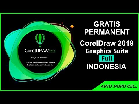 Cara instal CorelDRAW 2019 Full Version Gratis PERMANENT