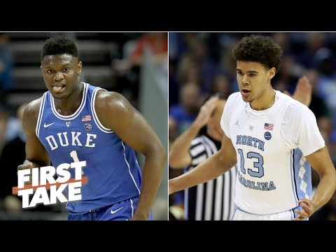 North Carolina is Duke's biggest threat in the 2019 NCAA Tournament - Stephen A. | First Take