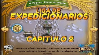 Hearthstone   EL DESPERTAR DE GALAKROND   Capitulo 2: La Liga de los Expedicionarios