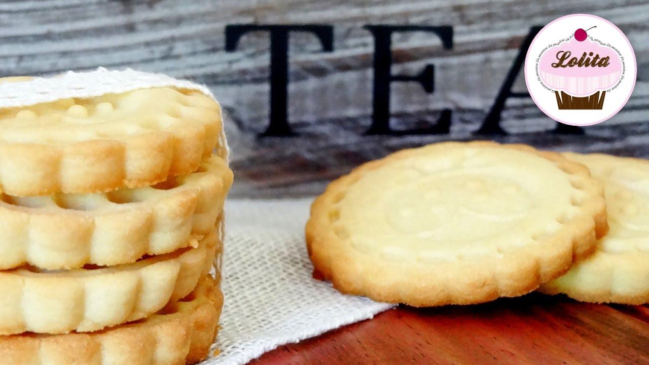 Receta para hacer galletas caseras de mantequilla