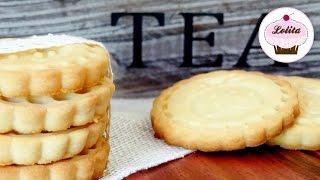 Receta de galletas de mantequilla caseras | Receta fácil | Galletas para el café