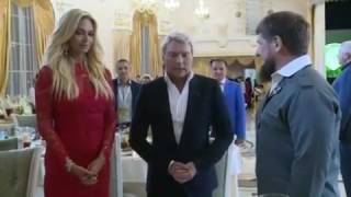 Свадьба Баскова в Грозном, на которой Рамзан Кадыров главный свидетель
