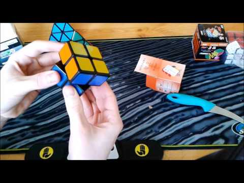 Unboxing Alpha Chun 1, WitTwo v1, Ghosthand 4x4, Pyraminx QJ