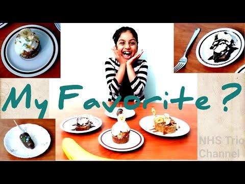 My Favorite |Banana desserts| NHS Trio channel