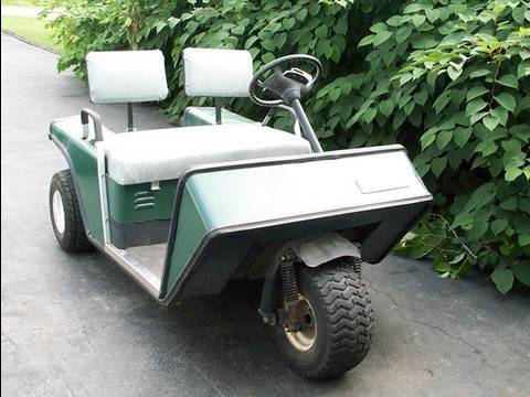 Diagnosis of EZGO Gasoline Golf Cart - YouTube on