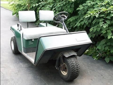 Diagnosis of EZGO Gasoline Golf Cart  YouTube