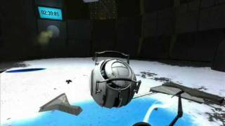 Portal 2 Boss Fight, Corrupted Core (Space Core)