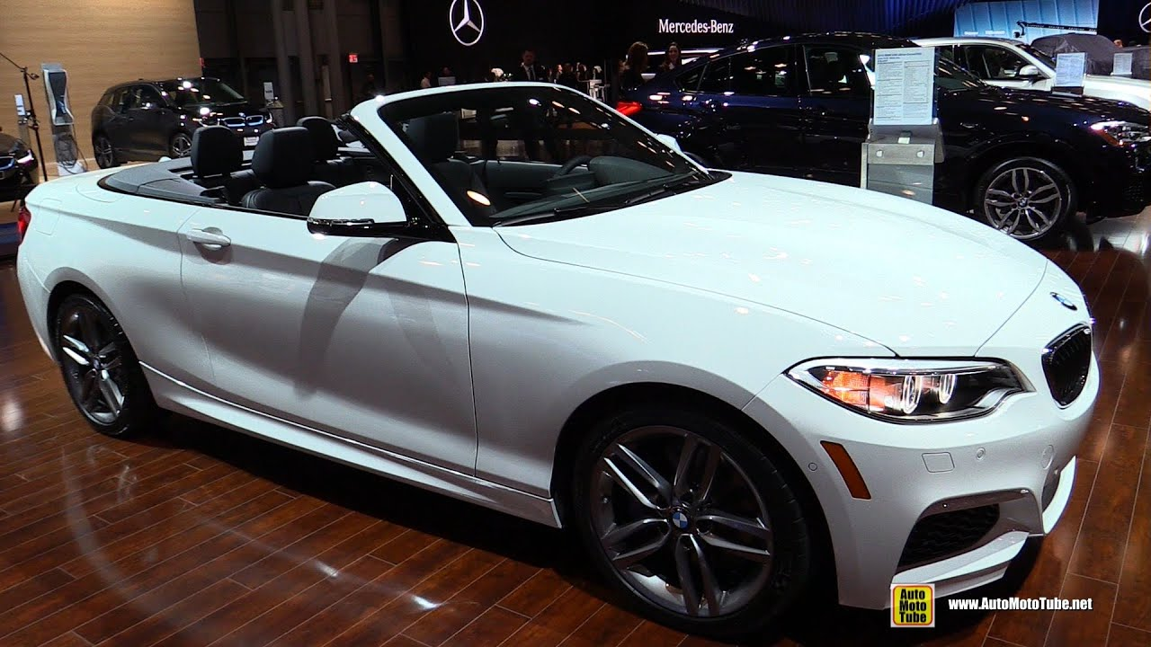 I Xdrive 0 60 >> 2015 BMW 228i xDrive Convertible M Sport - Exterior and Interior Walkaround - 2015 NY Auto Show ...