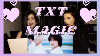 TXT - MAGIC M/V | REACTION