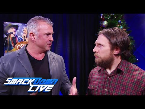 Shane McMahon & Daniel Bryan argue over the United States Title: SmackDown LIVE, Dec. 26, 2017