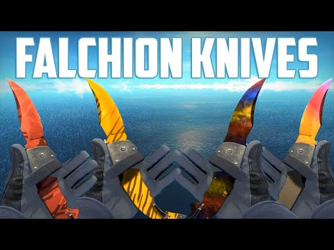 Cs go all falchion knife skins scream cs go hacker